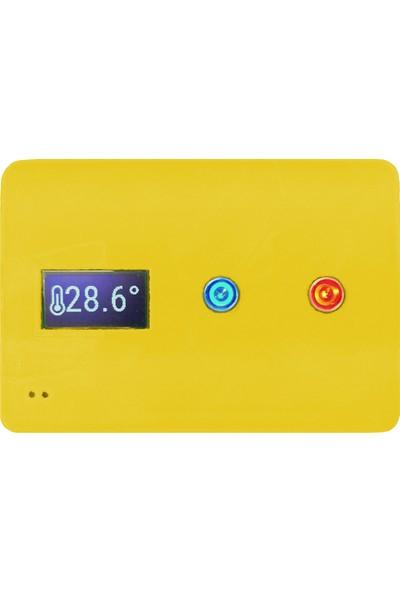Y3t Antis Kombimaster Kmt Kablolu Wifi Oda Termostatı - Altın Sarı