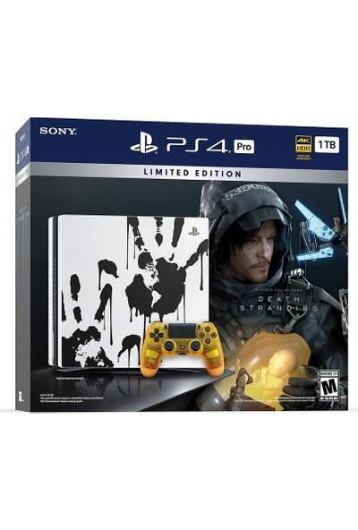 Sony Ps4 Pro 1 Tb Limited Edition Death Stranding Bundle