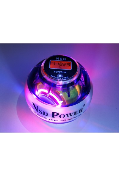 Nsd Powerball Dijital Sayaçlı Multi Light Purple PB-688 Mlc