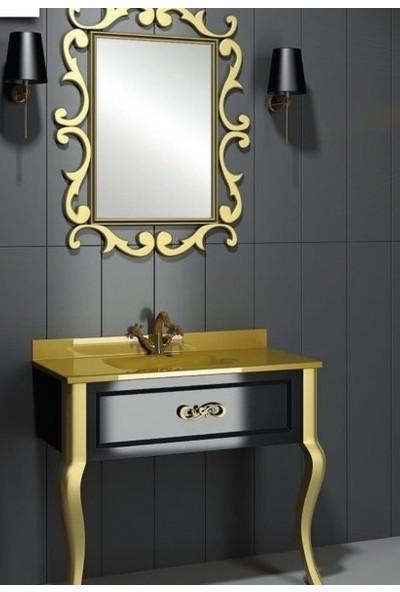 Eva 80 cm Banyo Dolabı