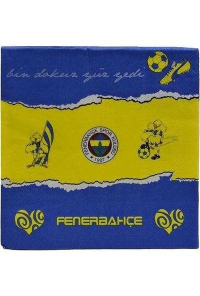 Buldum Fenerbahçe Peçete 20 Adet Lisanslı