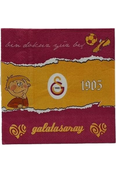 Buldum Galatasaray Peçete 20 Adet Lisanslı