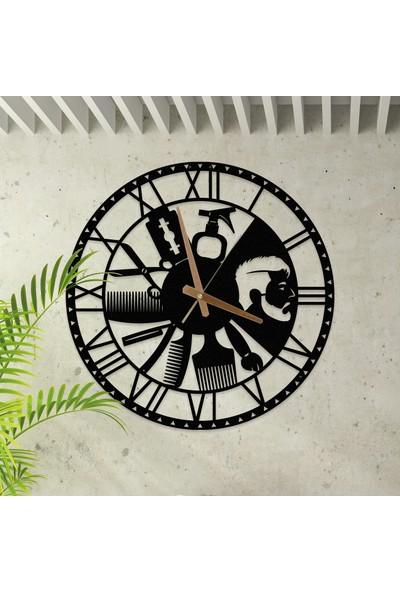 Metalium Concept Kuaför Temalı Metal Saat