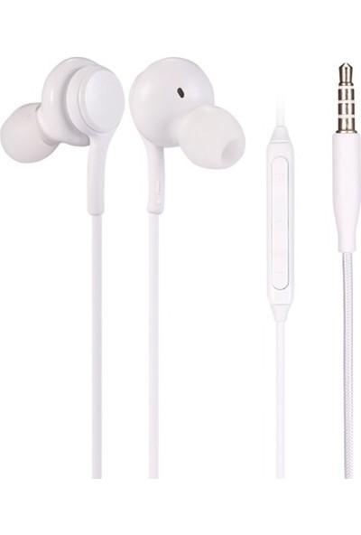 Dexim B10 Mikrofonlu Kulakiçi Kulaklık Beyaz