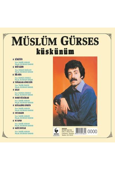 Müslüm Gürses - Küskünüm - Özel Numaralı CD