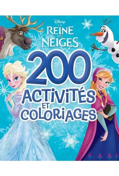 La Reine Des Neiges, 200 Activities Et Coloriages