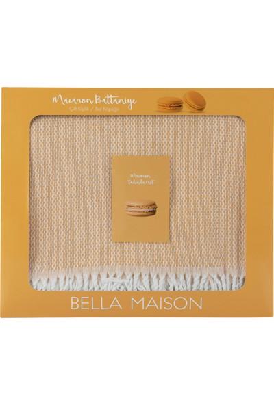 Bella Maison %60 Pamuk Macaron Tek Kişilik Bal Köpüğü Battaniye (150X200 Cm)