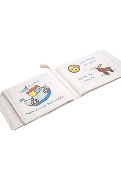 Miujoy Kumaş Kitap - Küçük Gezgin'in Dünya Turu Maceraları