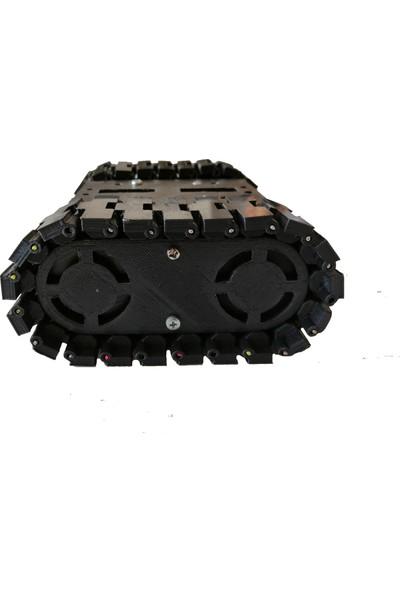 Alpgen Robotics Arduino Robot Tank Plastik Seti - Demonte
