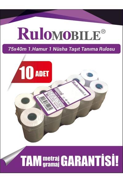 Rulo Mobile 75 x 40 m 1. Hamur Rulo (10 Adet)