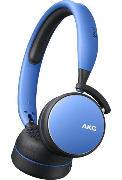 Samsung AKG by Harman Y400 Kablosuz Bluetooth Kulaklık (20 Saat Pil, USBC, Otomatik Oynatma/Duraklatma) - Mavi