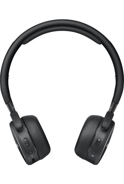 Samsung AKG by Harman Y400 Kablosuz Bluetooth Kulaklık (20 Saat Pil, USBC, Otomatik Oynatma/Duraklatma) - Siyah