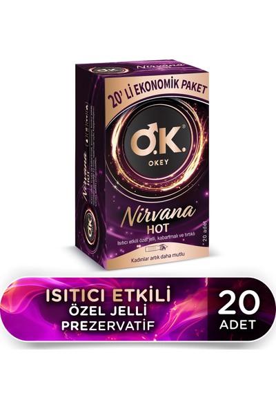 Okey Nirvana Hot 20'li Ekonomik Prezervatif