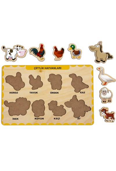 Maketçiniz Çiftlik Hayvanları Bul - Tak
