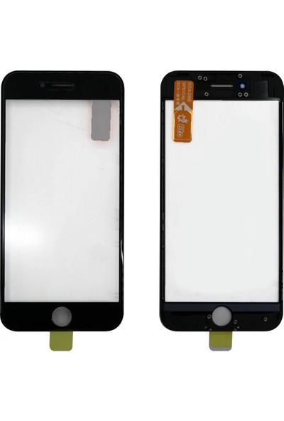 OEM Apple iPhone 8 Plus NT - 61054 Dokunmatik Lens + Oca + Çerçeve