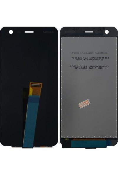 OEM Nokia Nokia 2 NT - 29578 AA Kalite Lcd + Dokunmatik Lens