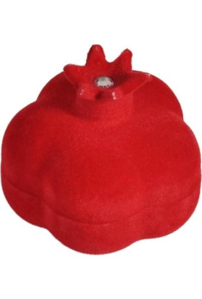 PartiPan Nar Kutu Flok Kaplama Kırmızı 10'lu