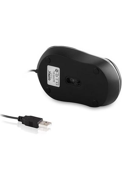 Everest Sm-246 Usb Siyah/Gri Mouse