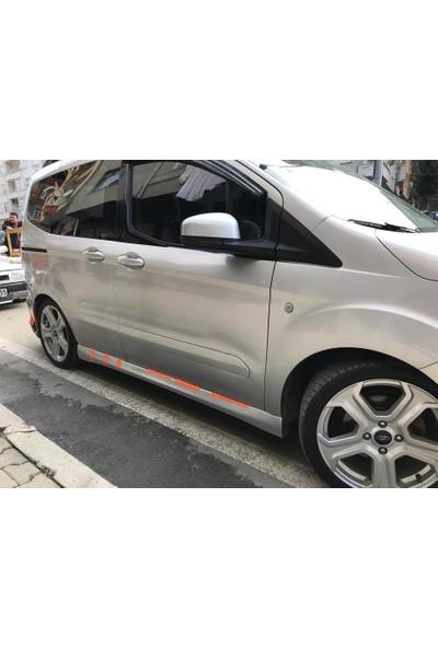 BTG Ford Tourneo Yan Marşpiyel (Plastik)