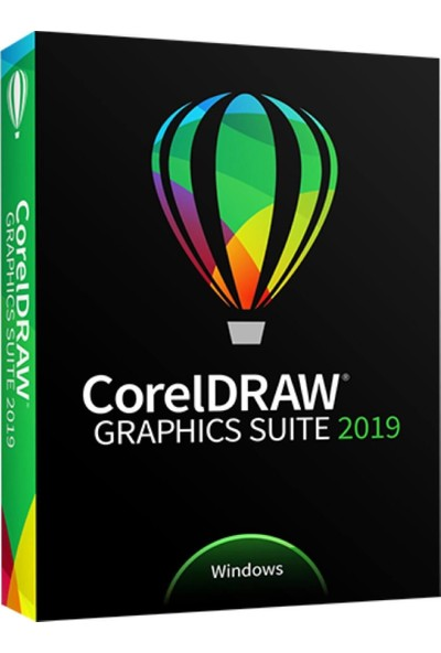 Coreldraw Graphics Suite 2019 Ev ve Öğrenci Paketi