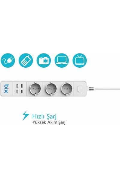 Mobitell Bix Wi-Fi Akım Korumalı Hızlı Şarj Özellikli Akıllı Priz