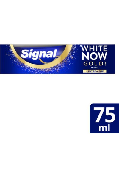 Signal Diş Macunu White Now Gold Diş Macunu 75 ml