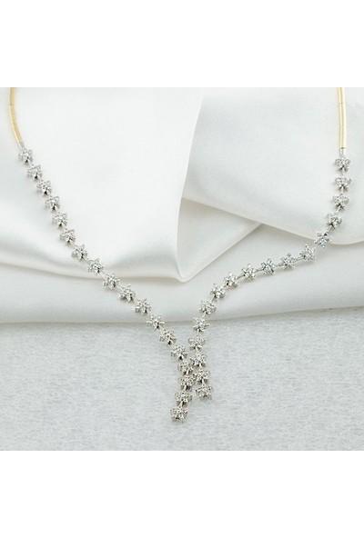 Label Jewelry Yıldızlı 14 Ayar Altın Takı Seti