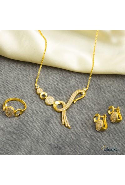 Label Jewelry Sonsuzluk 22 Ayar 3'Lü Altın Set