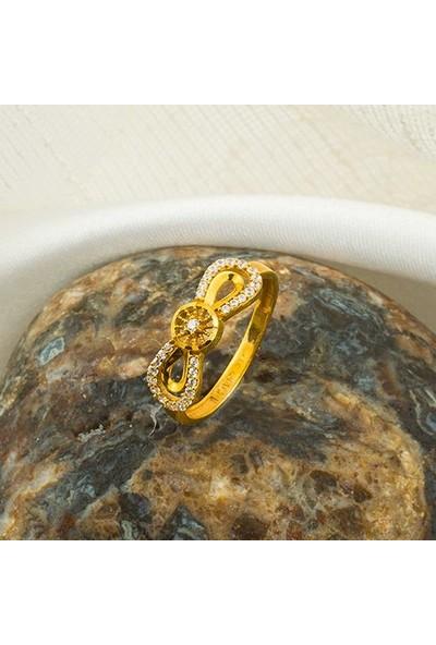 Label Jewelry Sonsuzluk 22 Ayar Altın Mini Altın Set