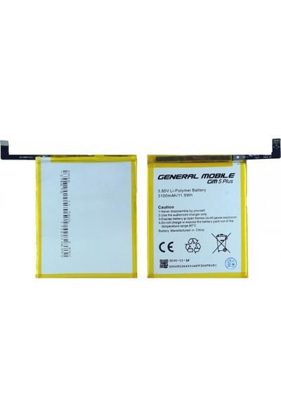 OEM General Mobile Gm5 Plus İçin NT-28761 Revize 3100 mAh Batarya