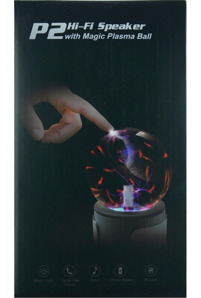 Music Apollo P2 Magic Ball Mono Bluetooth Speaker