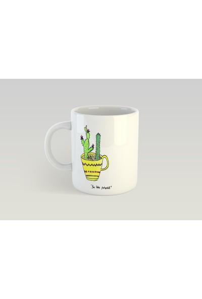 Minimalist Mug Designs Minimal Mottolu Özel Tasarım Kupa