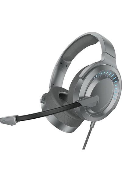 Baseus NGD05-0A Gamo D05 Oyuncu Kulaklığı - Gri