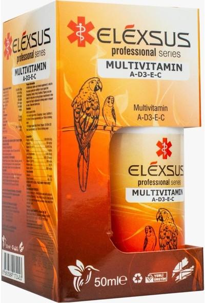 Elexsus Kuşlar İçin Multivitamin 50 ml