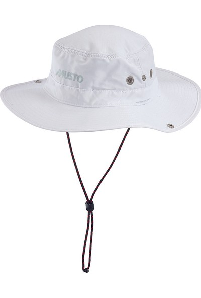 Musto MUS.80033 Musto Evo Fd Brimmed Hat (MUS.AL1410) Şapkalar Beyaz Unisex