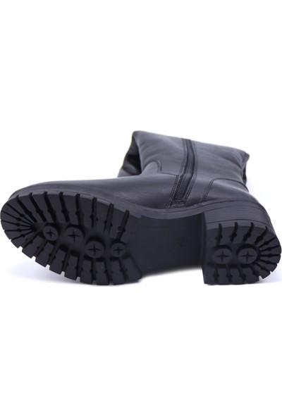 Castle Black 26900-1 Kadın Deri Çizme