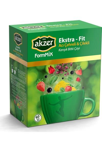 Akzer Formmix Ekstra Fit Karışık Bitki Çayı 60'lı