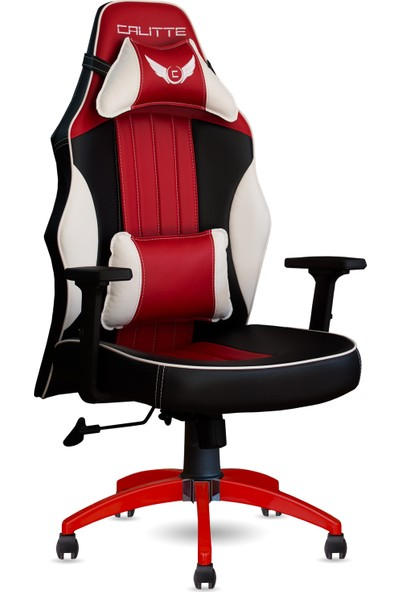 Calitte   Remix RDX   Profesyonel Oyuncu Koltuğu   Siyah-Beyaz-Kırmızı