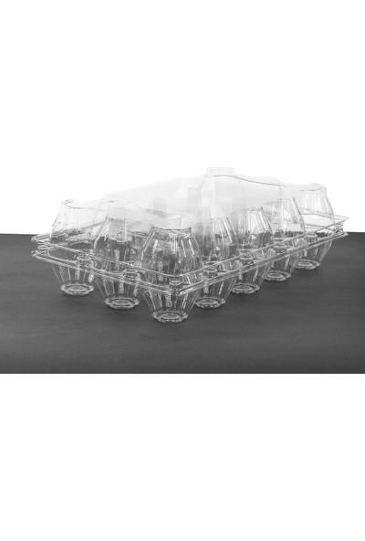 Viyolpazarı 15 'li Plastik Yumurta Viyolü 300 Adet