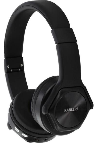 Karler Tws True Kablosuz Kafaüstü Bluetooth Kulaklık ve Hoparlör Siyah