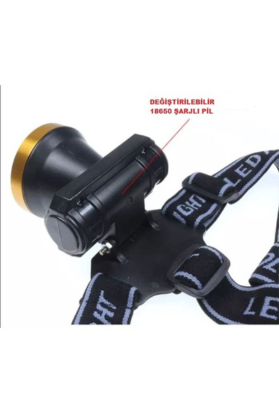 Gaman BL-0509 Cob LED 2000LM 10W 1000M Menzilli Süper Parlak Uzun Menzilli Kafa Feneri