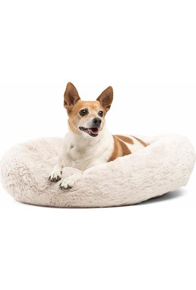 Peluş Kedi Minderi Yumuşak Kedi Yatağı Küçük Irk Köpek Yatağı