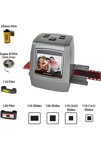 Magnasonic All In One 22MP Film Scanner