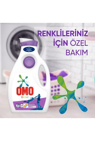 Omo Color Renkliler için Sıvı Çamaşır Deterjanı 1950 ML