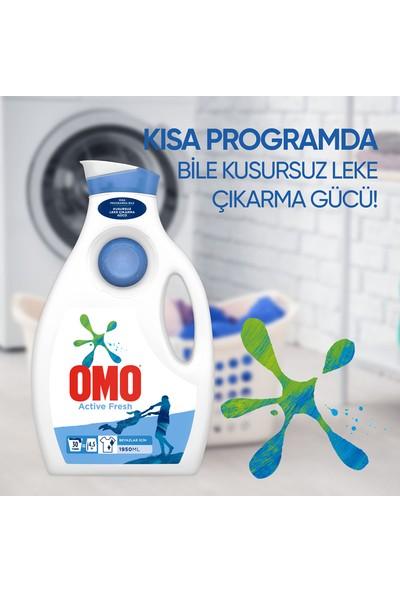 Omo Active Fresh Beyazlar için Sıvı Çamaşır Deterjanı 1950 ML