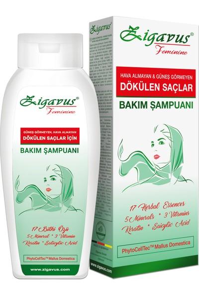 Zigavus Güneş Görmeyen Hava Almayan Saçlar İçin Şampuan 250 ml