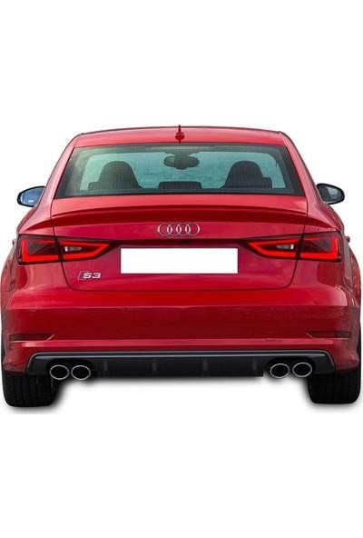 BTG Audi A4 B9 2016 Sonrası Difüzör (Plastik)
