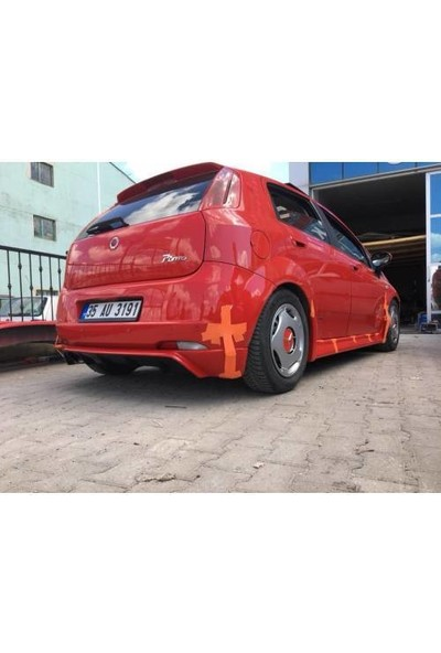 BTG Fiat Punto Rieger Arka Ek (Plastik)