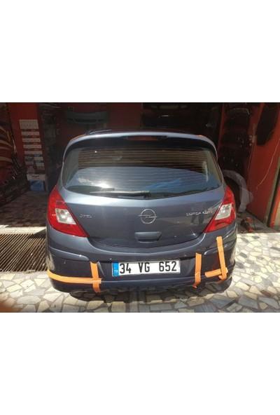 BTG Opel Corsa D Fiber Boyalı Arka Ek