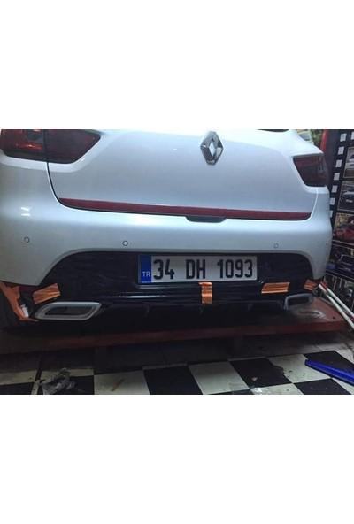 BTG Renault Clio 4 Egzoz Görünümlü Difüzör (Plastik Ürün)